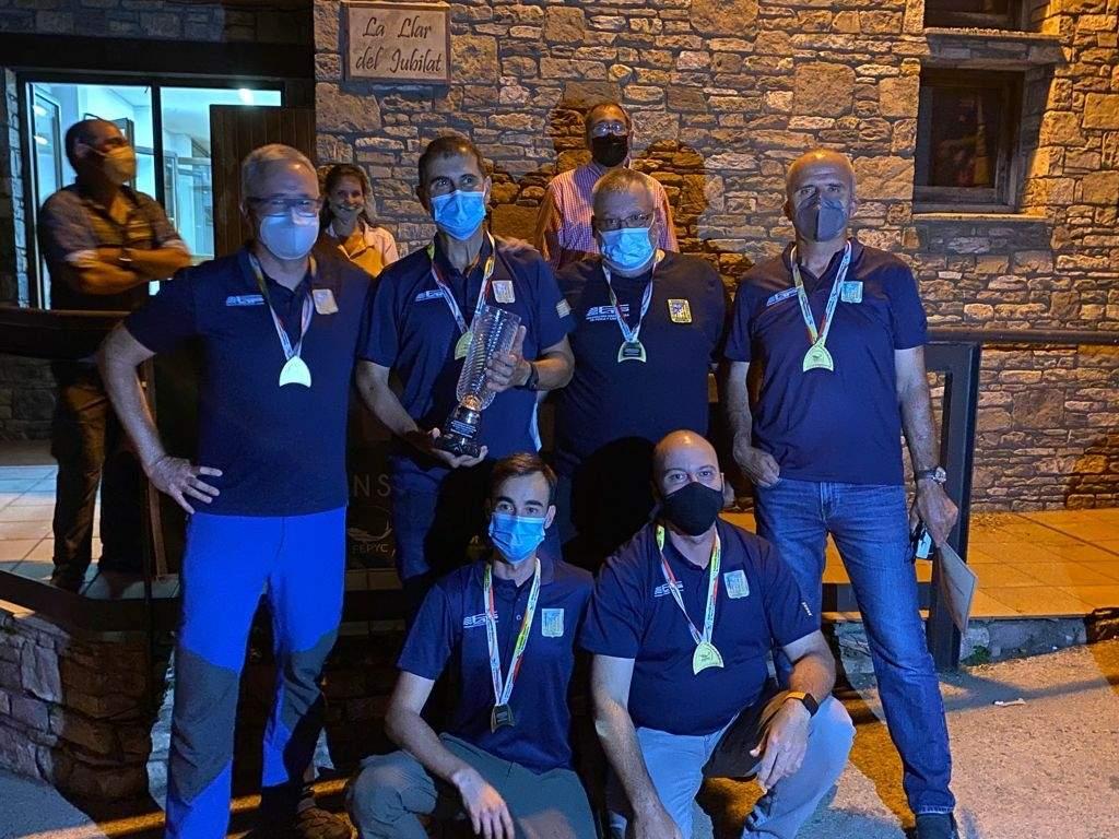 Campeones I Campeonato España Salmónidos Artificiales