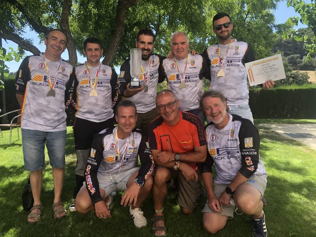 Subcampeones XX Campeonato de España Black-bass Orilla